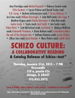 SCHIZO CULTURE READING FLIER-FINAL