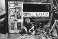 Fred Burkhart, Photography, Burnt Out Hippie (Sunset Terrace), Venice California 1970