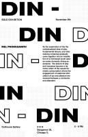 DIN-DIN poster