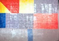 New Work by Anna Kunz documented in her studio