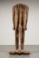Abakanowicz, Backwards Standing, 1993-4 (1215005) A