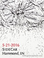 Sidecar Gallery - We Travelled, Carl Barrata, Oli Watt (21 May 2016) Hammond Indiana