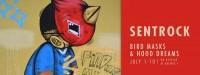 Chicago(01July2016)Logan Sqare, Galerie F, Bird Masks and Hood Dreams, Sentrock, Joseph Perez