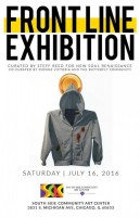 Chicago(16 July 2016) Douglas,  South Side Community Art Center, Frontline Exhibition