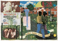 Chicago(23July2016)Near North Side, Museum of Contemporary Art Chicago, MCA Talk On Painting Lewis + Stewart, Tony Lewis, Jacqueline Stewart