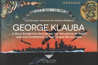 Chicago (26 August 2016) Irving Park, National Veterans Art Museum, George Klauba Solo Exhibition, George Klauba