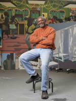 Artist Kerry James Marshall, Photo: Kendall Karmanian