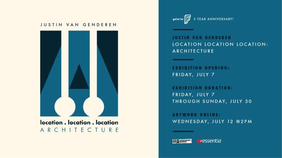 Justin Van Genderen: Location Location Location: Architecture